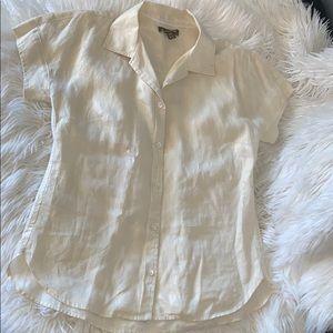 Tommy Bahama linen blouse sz small loose nwot